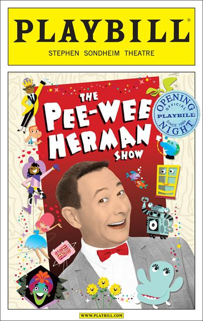The Pee Wee Herman Show Limited Edition Official Opening