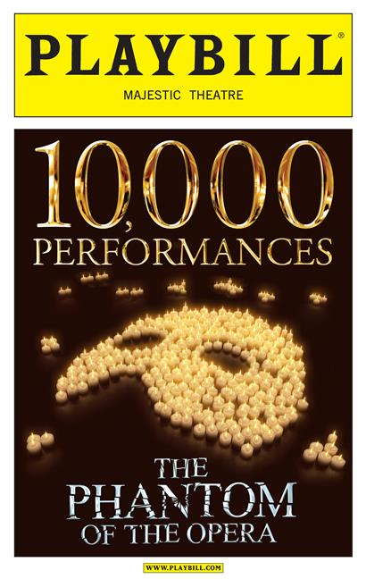 the phantom of the opera 10 000th performance limited