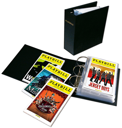 The Ultimate Playbill Binder Archival Quality Storage