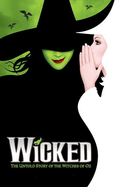 wicked the musical official broadway poster wicked
