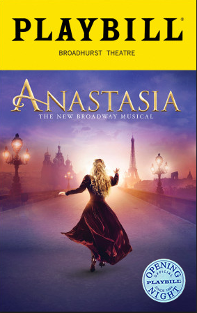 Anastasia The Broadway Musical Limited Edition Official