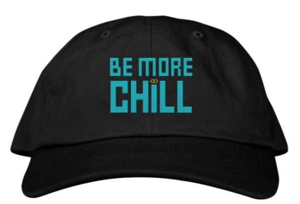 6eb9c7405 Be More Chill the Broadway Musical - Baseball Cap
