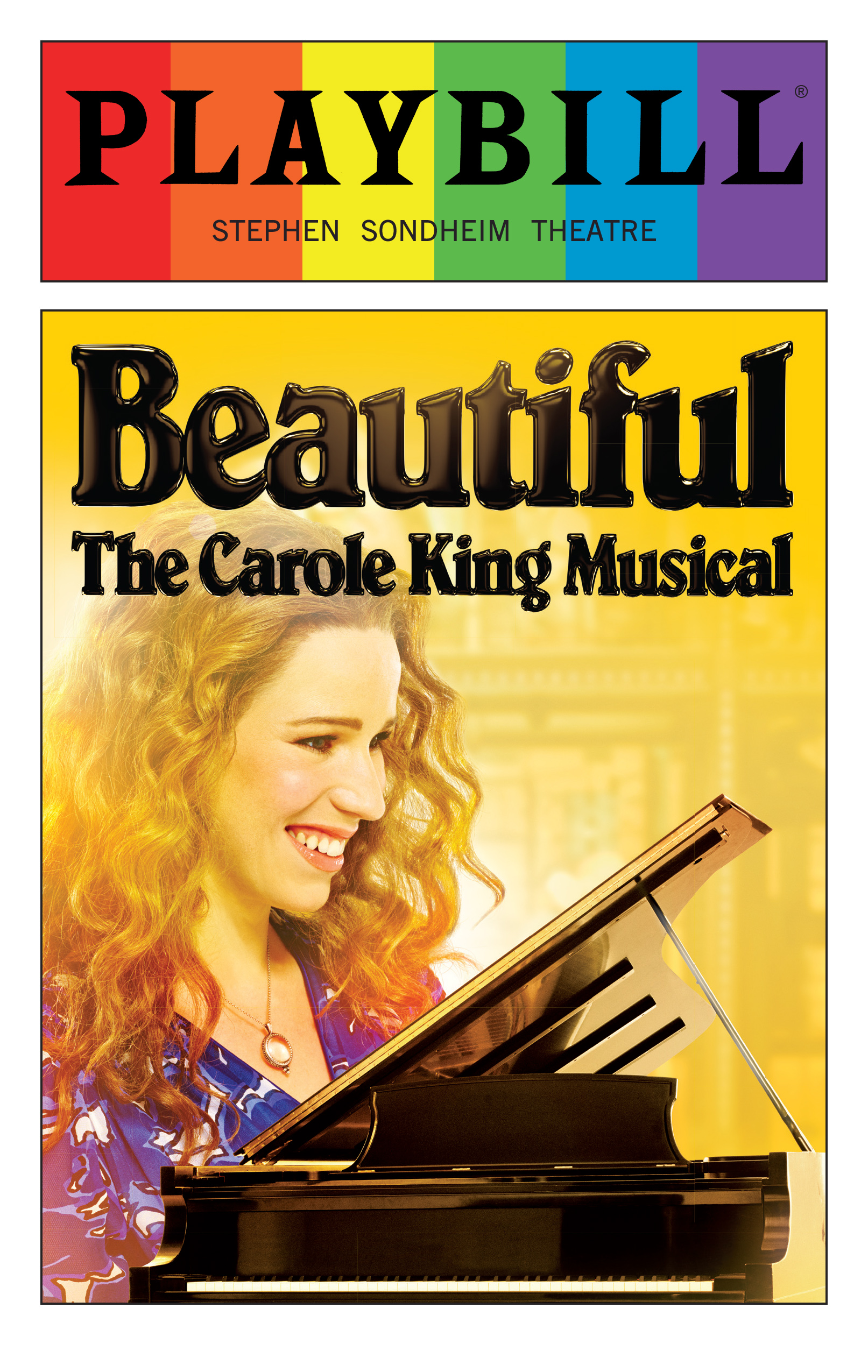 Beautiful June 2016 Playbill With Rainbow Pride Logo