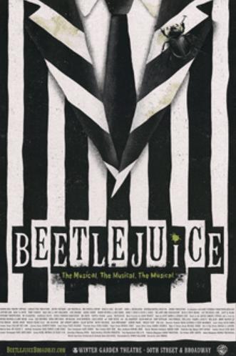 Beetlejuice The Broadway Musical Poster Beetlejuice Playbillstore Com