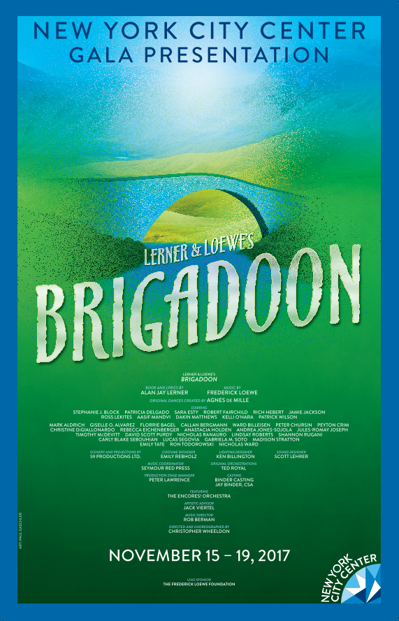 Brigadoon The Musical Poster 2017 Encores Brigadoon