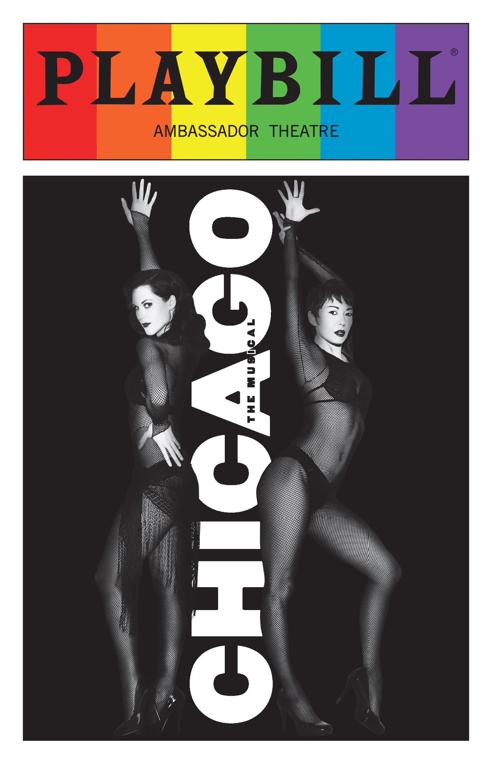 Chicago June 2016 Playbill With Rainbow Pride Logo