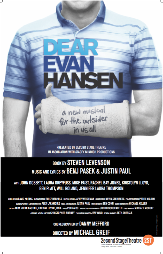 Dear Evan Hansen the Musical Poster - Posters/Window Cards ...