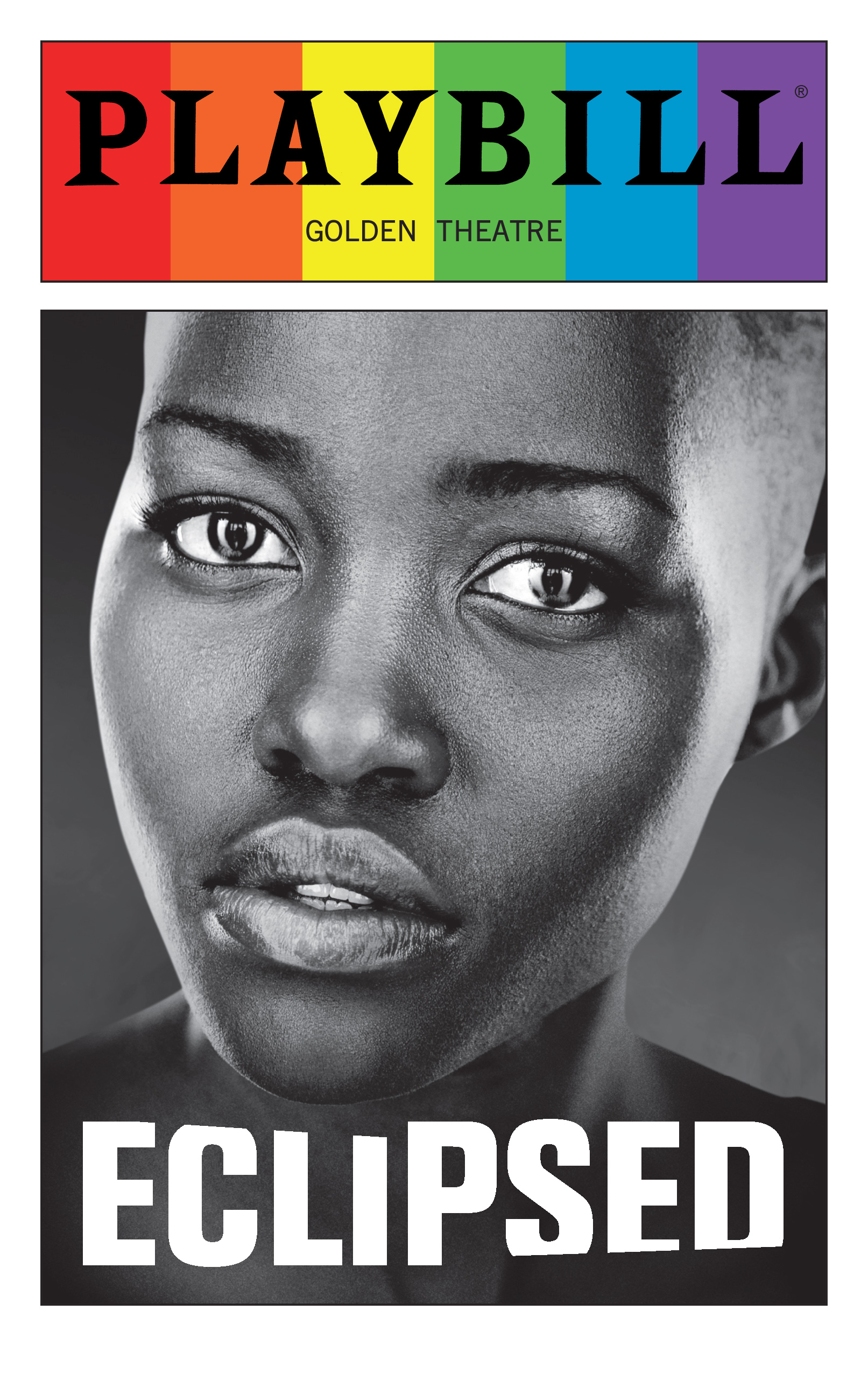 Eclipsed June 2016 Playbill With Rainbow Pride Logo