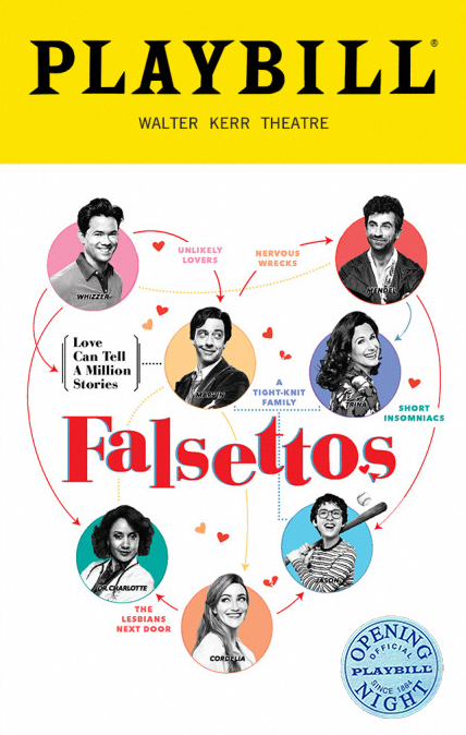 Falsettos Limited Edition Official Opening Night Playbill
