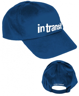 In Transit The Broadway Musical Logo Baseball Cap In