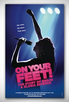 On Your Feet The Musical Broadway Poster On Your Feet