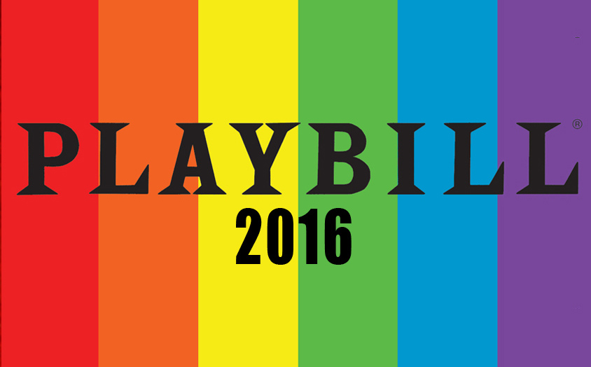 Playbill Pride 2016 Magnet Playbill Gifts