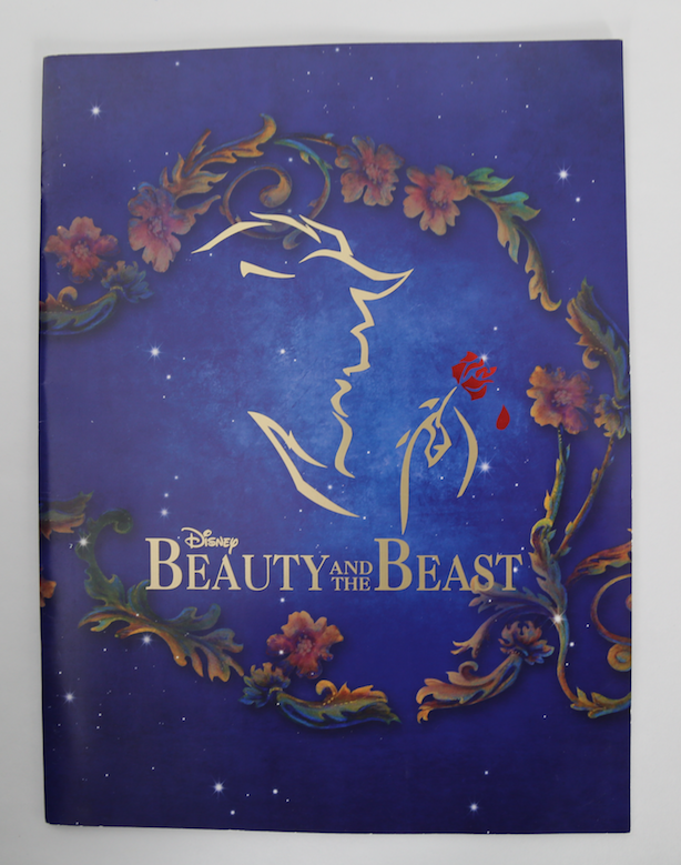 Beauty and the Beast the Musical Souvenir Program