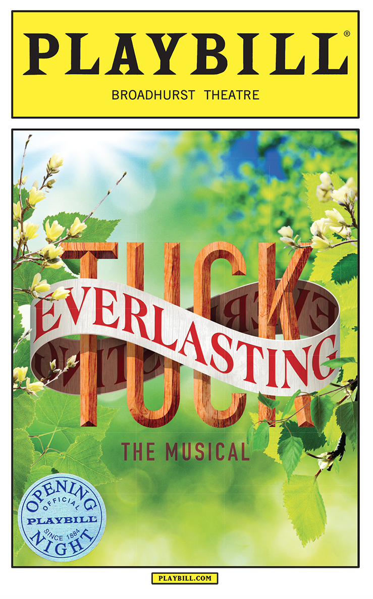 Tuck Everlasting Limited Edition Official Opening Night