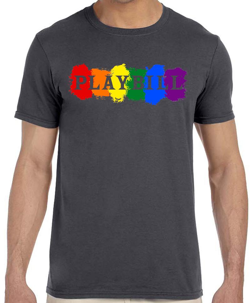 Playbill Pride T Shirt 2018 Playbill Merchandise