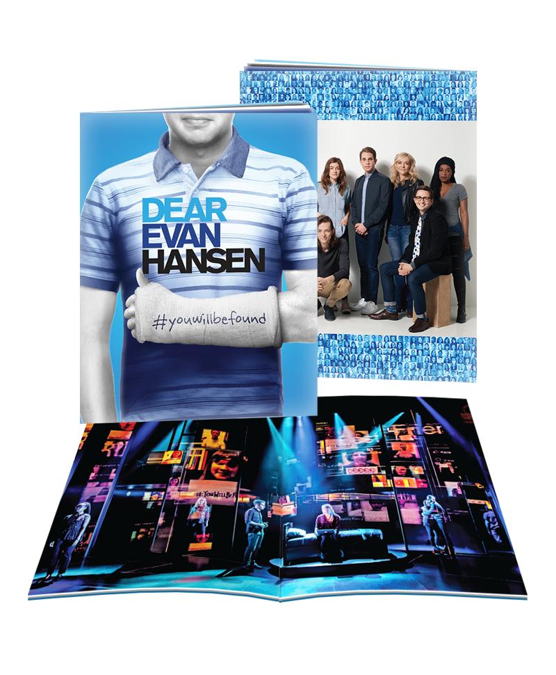 Dear Evan Hansen The Musical Souvenir Brochure Dear