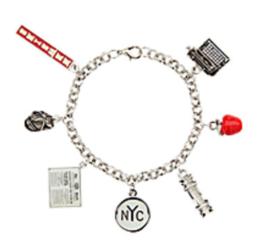 Newsies The Broadway Musical Charm Bracelet Playbill