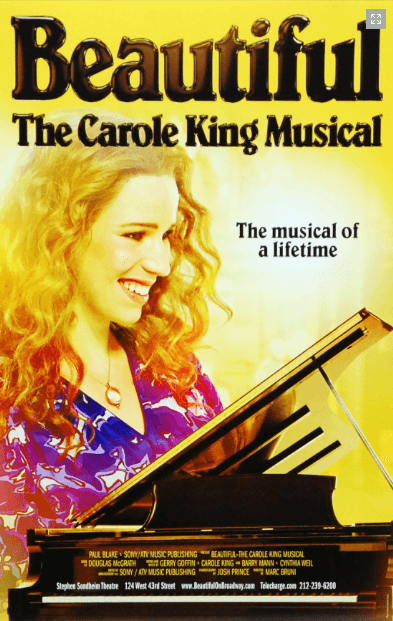 Beautiful the Carole King Musical Broadway Poster - Beautiful: The ...