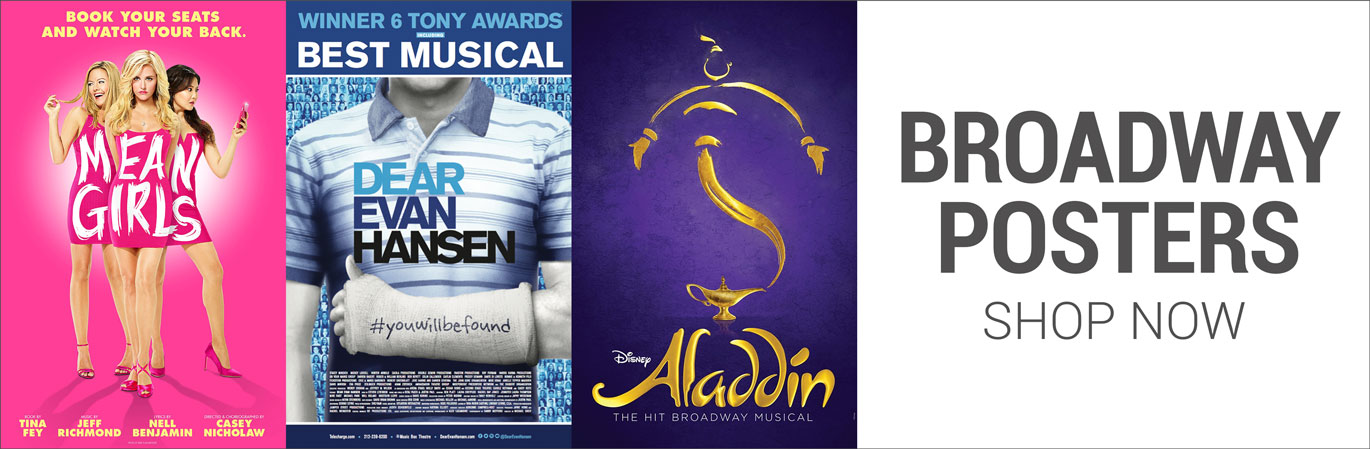 A huge selection of Broadway posters from all of your favorite musicals and plays here at PlaybillStore.com