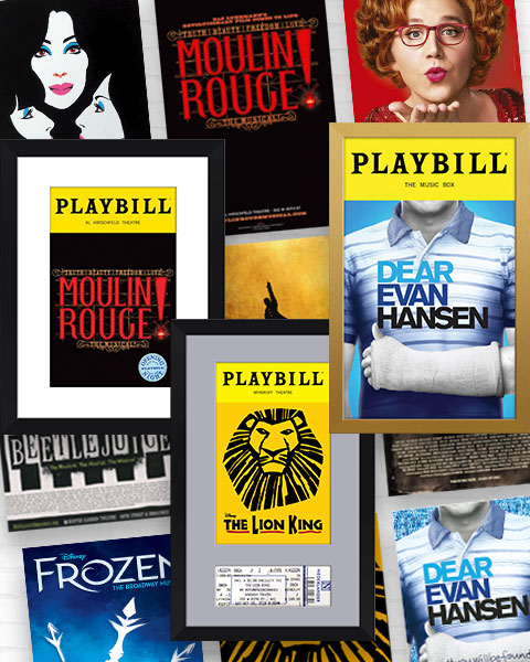 Broadway Posters and Frames