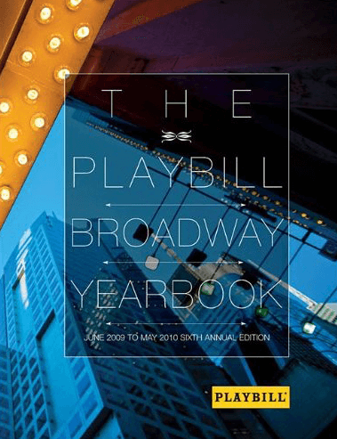 Playbill Yearbook a Delight for Theater Buffs