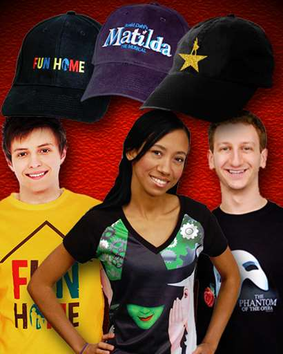 Broadway Show Tees and Apparel