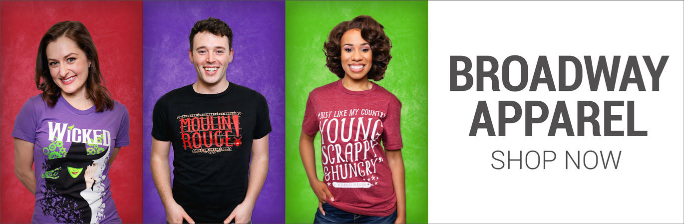 Broadway Tee Shirts and Apparel - Souvenirs and Merchandise