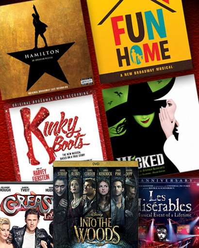 Broadway CDs/DVDs