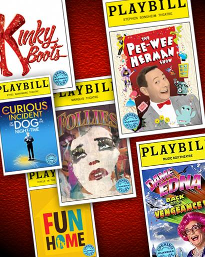 Opening Night and Special Event Playbills