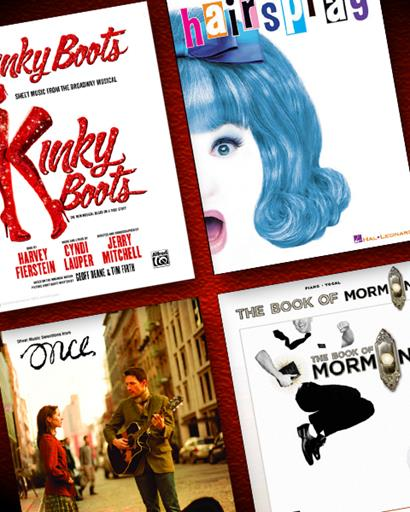 Broadway Books/Piano/Vocal Sheet Music