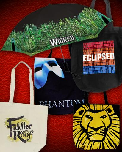 Tote Bags and Umbrellas