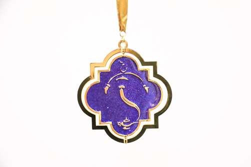 Aladdin the Broadway Musical Logo Ornament