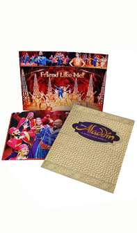 Aladdin the Broadway Musical - Souvenir Program