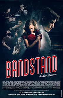 Bandstand the New American Broadway Musical Full Cast Poster