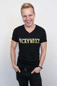 Be in the Playbill Logo T-shirt