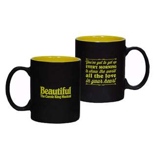 Beautiful The Carole King Broadway Musical - Youve Got to Get Up Logo Coffee Mug