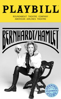Bernhardt/Hamlet Limited Edition Official Opening Night Playbill