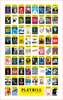 Broadway Season Playbill Poster 2016 - 2017