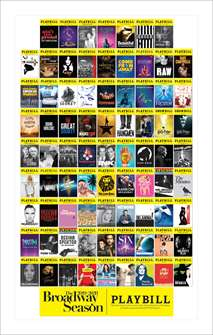Broadway Season Playbill Poster 2019 - 2020
