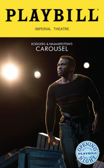 Carousel Limited Edition Official Opening Night Playbill (2018 Revival)