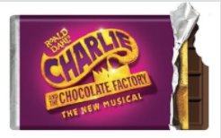 Charlie and the Chocolate Factory the Broadway Musical Chocolate Bar Magnet