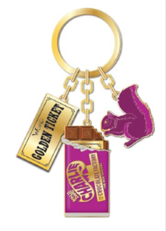 Charlie and the Chocolate Factory the Broadway Musical Keychain