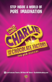 Charlie and the Chocolate Factory the Broadway Musical Poster