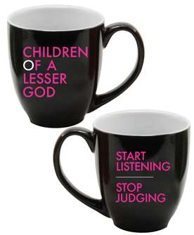 Children of a Lesser God - Latte Mug