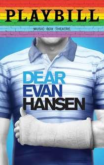 ea3fb48b Dear Evan Hansen - June 2019 Playbill with Rainbow Pride Logo