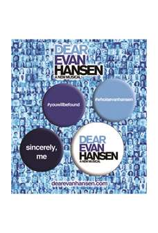 Dear Evan Hansen Pin Set
