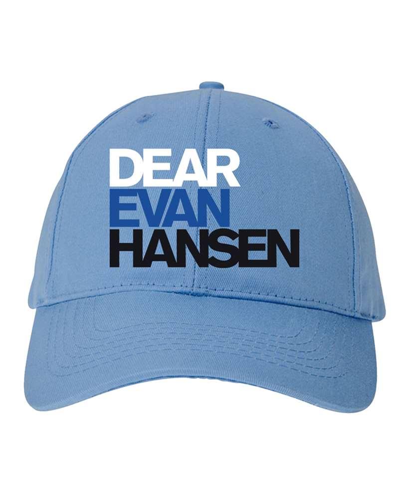 Dear Evan Hansen the Broadway Musical Lt Blue Cap - Dear Evan Hansen ... 88509b5058d