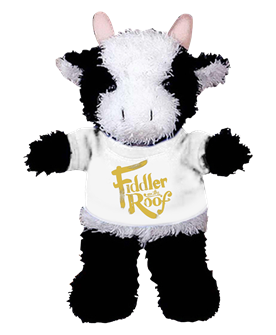 Fiddler on the Roof Plush Cow
