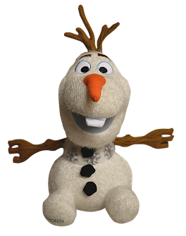 Frozen the Broadway Musical - Olaf Plush
