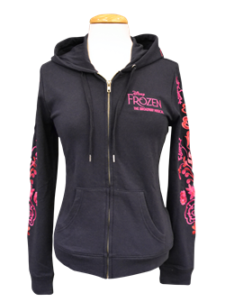Frozen the Broadway Musical Rosemaling Hoodie
